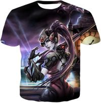 Overwatch Ruthless Talon Assassin Widowmaker T-Shirt OW056 $19.99