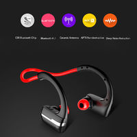 Sports Wireless Bluetooth Headset Headphone AptX Noise Cancelling Waterproof Earphone Stereo Earbuds with Mic