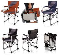 Meta Chair - Folding Ease to Carry Outdoor Furniture - Picnic Time 810-00