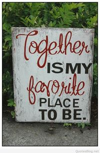 Together is my favorite