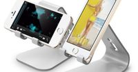 elago M2 Stand for all iphones, Galaxy and Smartphones (Angled Support for FaceTime), Silver - http://www.productsforautomotive.com/elago-m2-stand-for-all-iphones-galaxy-and-smartphones-angled-support-for-facetime-silver/