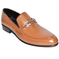 Johny Weber Handmade Tan Leather Loafers