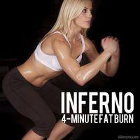 Bodyweight workouts are often high intensity with fat burning and muscle toning results. No dumbbells or barbells required...just you and an interval timer. Inf