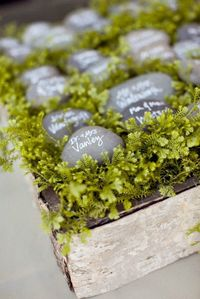 love the stone name cards brooke keegan | aaron delesie photography