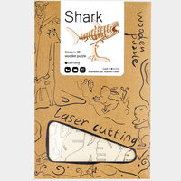 3D Wooden Puzzle,Wood Craft Kit,Shark Model,Gifts $27.30