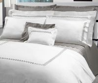 Patrick Embroidery Bedding by Dea Linens $398.00