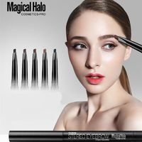 MAGICAL HALO 5 Colors Stereo Eyebrow Pencil With Brush $9.97