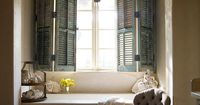 I want shutters on the INSIDE of every room in my home!