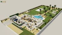 Luxurious 3D Virtual Floor Plan Design with landscape pool view by Architectural Rendering Companies, Bern - UK.jpg