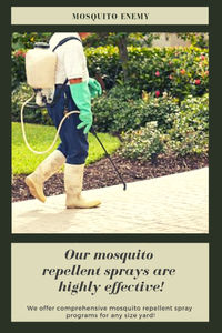 At Mosquito Enemy, we offer same day mosquito and tick control services. Call now to learn more about our methods.