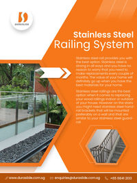Stainless Steel Railing System Supplier