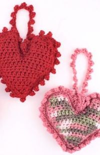 Sweet Heart Sachet Crochet Pattern