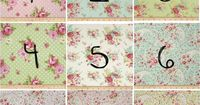 Floral Rose Shabby Chic Custom Baby Girl Bedding - Crib Bumper, Fitted Sheet, Crib Skirt - Mix and Match Nursery Fabric for Baby Bedding