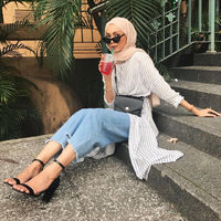 Chic Ways to Wear Tunic For Hijab Outfit