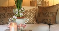 Great blog for pottery barn look on a budget.