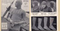 1940s Knitting Patterns Book Patons104 WW2 by allthepreciousthings