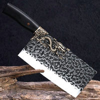 Chinese Cleaver Hand Forged Chef Knife Dragon Style ILS649.00