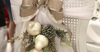 DIY home decor projects for the Christmas Holiday Season. Wreath, craft and party ideas by Michaels featured on Living Locurto.
