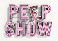 Peep Show Sign by AnotherExample, via Behance