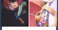 Love Disney! There's also a lute in the scene when Rapunzel and Eugene are in�€�