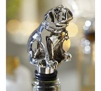 Bulldog Bottle Stopper #potterybarn