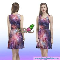 COSMIC DREAM Skater Dress Rave Outfit Women Burning Man Clothing Rave Wear Festival Clothing Rave Clothing Sexy Dress Trance Clothing £55.00
