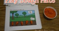 Play Dough Busy Bag Ideas: All of these activities involve free printables and play-dough so they are very easy on the budget.
