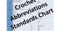 Comprehensive list of crochet abbreviations to help you learn the language of crochet and easily begin using crochet patterns.