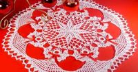Delicate crochet doilies are a beautiful decoration to set out on a table during the Christmas holiday season. The Poinsettia Angel Doily Pattern fits this statement by providing instructions to create a beautiful doily graced with a poinsettia center and...