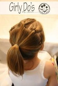 This could be a booth at a fair to raise money: a Crazy Hair Booth (Gymnastics Hair). I'd look for all kinds of other hair ideas on Pinterest. It could be tied in with a craft to create a hairpostwith beads. Want more fundraising ideas with my...