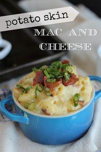 Potato Skin Mac and Cheese