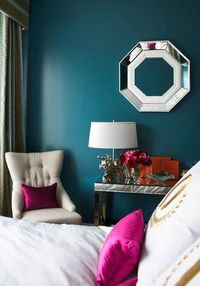 dark teal, teal bedrooms and colors.