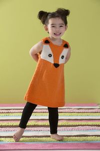 Ravelry: Child's Foxy Tunic pattern by Heather Lodinsky