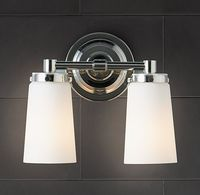 Asbury Double Sconce - Polished Nickel $145 Restoration Hardware