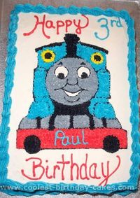 Take a look at the coolest Thomas the Train cake photos. You'll also find the most amazing photo gallery of homemade birthday cakes, how-to tips and lots of ori