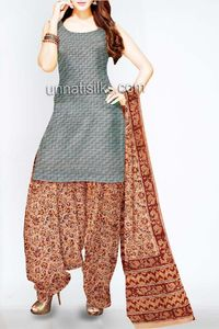 online shopping for kalamkari cotton salwar kameez are available at www.unnatisilks.com