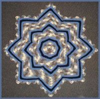 A baby shower gift is great when it is handmade. Crochet this little boy ripple baby afghan pattern. Its pattern is gorgeous and because it uses such a large hook, it works up quickly.
