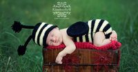 Buzzy Bumble Baby Set Knitting Pattern - 5 Sizes Included - PDF Sale - Instant Digital Download