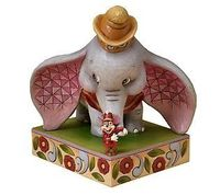 Jim Shore Disney Traditions Dumbo with TimothyMouse Figurine
