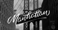 Cities | A Brush-Type Lettering Series By artist