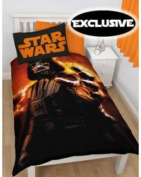 Star Wars Clone Wars Star Wars Darth Vader Rise Single Duvet Cover - Pre-Order this item today for delivery in mid November 2014. Exclusive design to PriceRightHome. Official Star Wars merchandise. 50% cotton, 50% polyester. http://www.comparestor...