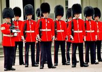 London, english soldiers - London, London