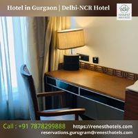 Best hotel in Gurugram for work and leisure.