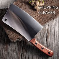 Chinese Cleaver Chef Knife Bones Chopping Butcher Tool $103.80