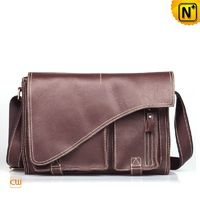 Mens Leather Satchel Messenger Bags CW914118