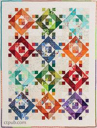 Quilts for Scrap Lovers: 16 Projects �€� Start with Simple Squares by Judy Gauthier