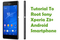 "In this tutorial, you can see how to ""Root Sony Xperia Z3+ Android Smartphone""."
