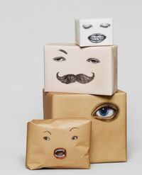 packaging with personality. Wow, love this! (via