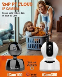 IP camera providing by Secureye for indoor and outdoo station. This wifi camera helps to record all activities happening inside home or Office.