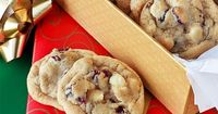 Cranberry White Choc Chip Cookies
